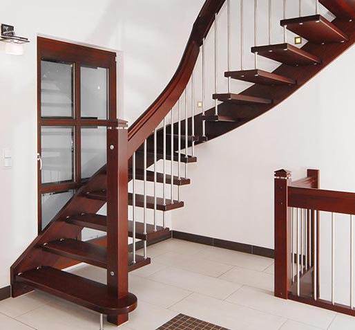 saddle stairs