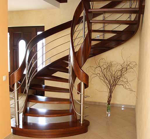 Stairs with curved elements №2