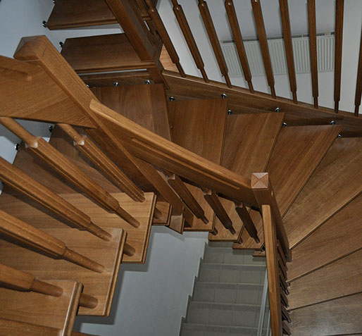Wooden Stairs №22